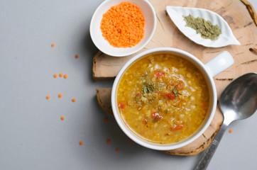 Lentil Bulgur Soup, Comfort Food, Turkish Cuisine