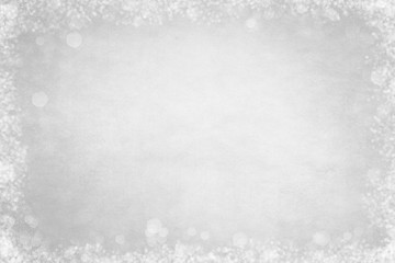 White Bokeh Frame Background for Slide Slow Presentations