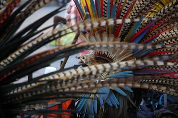 Penachos de Danzantes Mexicano