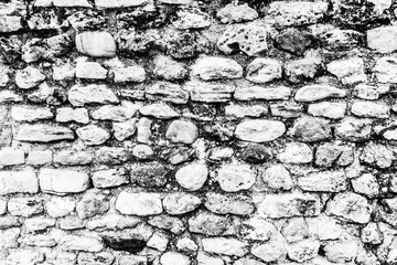 Background of ancient  stone wall.
