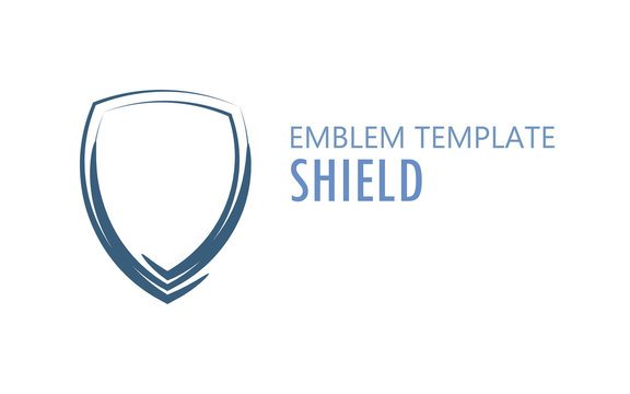 Shield Logo on White