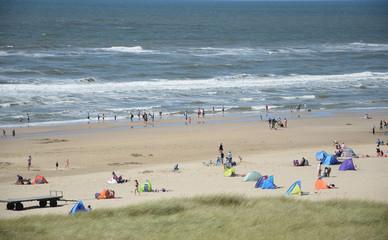Strand bei Egmont aan Zee