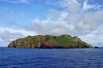 Pitcairn Island in the South Pacific ocean