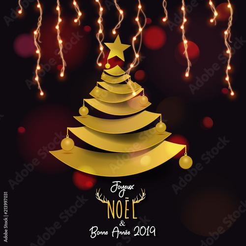 Image De Joyeux Noel 2019.Joyeux Noel Bonne Annee 2019 Stock Image And Royalty Free