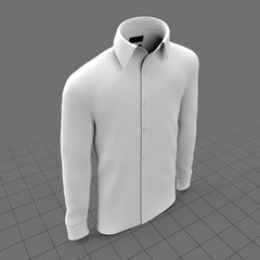 Long sleeve male shirt