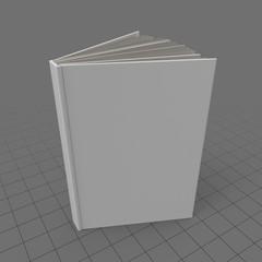 Open standing book