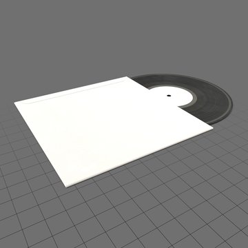 Vinyl record with jacket