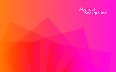 Abstract color background. Minimal design. Geometric shapes on bright backdrop. Vector illustration for banner, poster, web