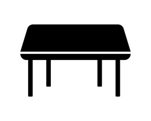 table furnishing furniture household home image vector icon silhouette
