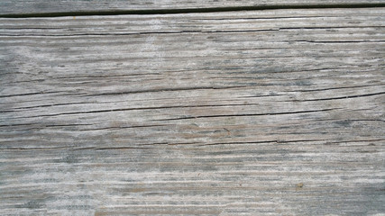 single worn wooden plank