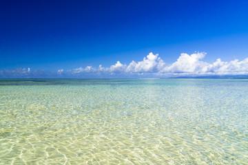Fototapete - 竹富島のコンドイビーチ