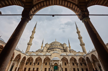 Blue Mosque, art masterpiece of Istanbul