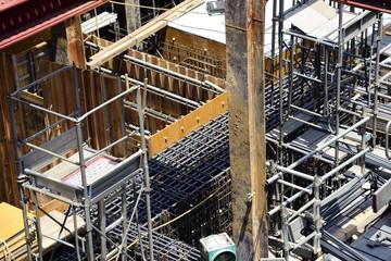 civil engineering construction site
