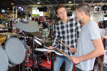 the drum shop