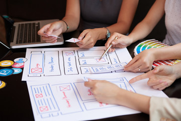 Meeting of UX designers
