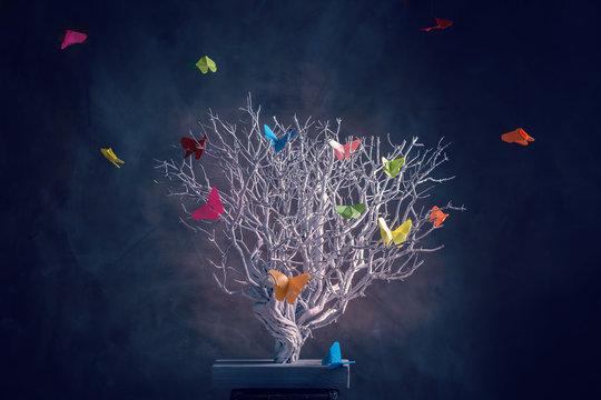 Si nada cambiara no existirían las mariposas