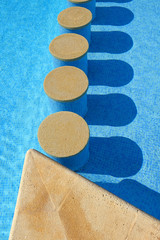 Detail on water from Swimming pool