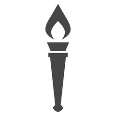 Torch With Flame icon