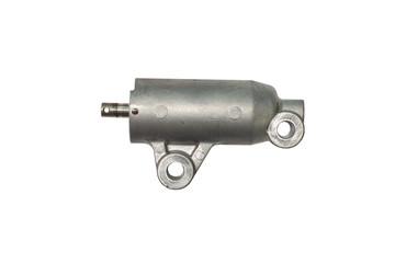 ๊Used part and tool adjuster in engine of car on isolate white background and clipping path.