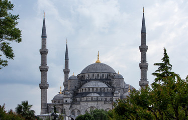 Istanbu , Blue Mosque, Sultan Ahmed Mosque..
