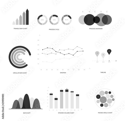 Infographic elements global data visualisation vector set rating infographic elements global data visualisation vector set rating target circle diagram ccuart Image collections
