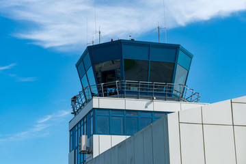 Tower auf einem Regionalflughafen