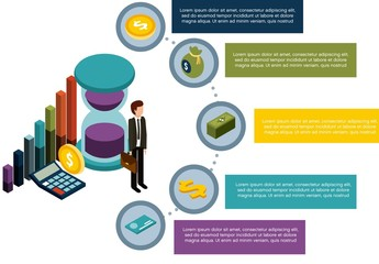 Finance Infographic Layout