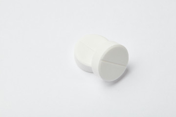 Pill and tablets, medicine isolated. Drug. Healthcare. Pharmaceutics. pharmacy.