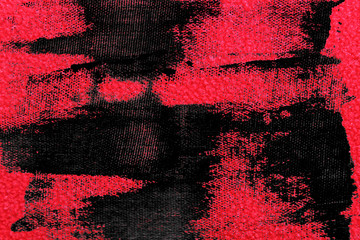 Grunge Fabric red colored texture or background