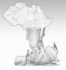 exploitation of the continent africa