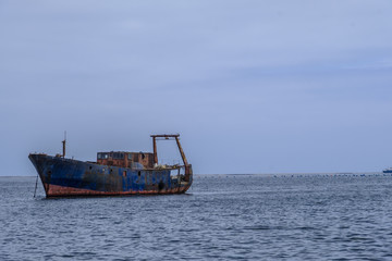 Abandoned ship Namibia