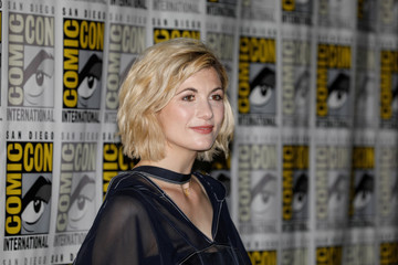 Whittaker at Comic Con in San Diego