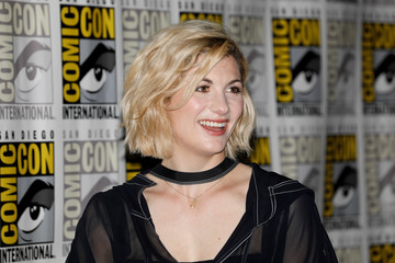 Actor Whittaker at Comic Con in San Diego