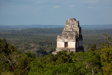 Tikal, Mayan Ruins, Temple III, Guatemala