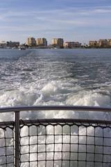 Tugboat Leaving Clearwater Behind