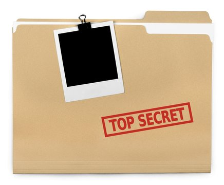 Top Secret File Folder