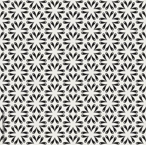 Vintage Vector Art Deco Seamless Pattern  Geometric