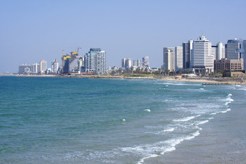 Israel, Tel Aviv, sunny weather, the old city