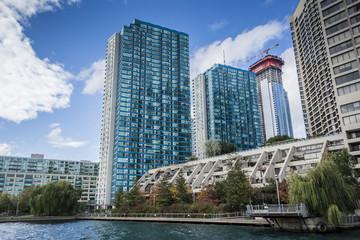 Toronto waterfront buildings