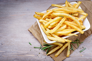 French fries, Chips