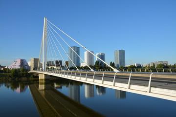 Nantes - Le pont Eric Tabarly