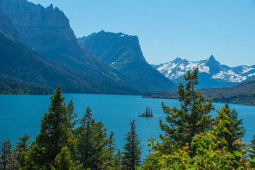 Reflections on St. Mary Lake - Glacier National Park