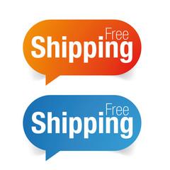 Free Shipping label set