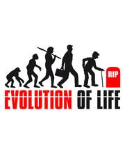 life tot grab grabstein sterben kreislauf beerdigung evolution affe stock hut gehen rücken opa großvater alt rente enkel mann geburtstag silhouette schwarz umriss schatten