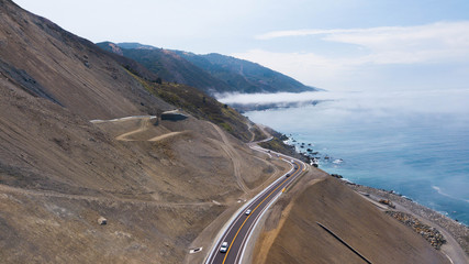 California Highway 1 landslide rebuild 4