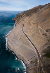 California Highway 1 landslide rebuild 1