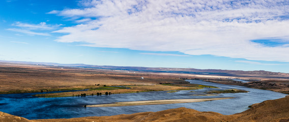 Eastern Washington Palouse vast expanse desert view Columbia River