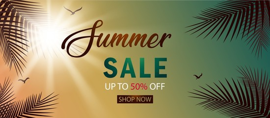 Summer Sale Banner Template for your Business