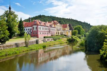 Zbraslav castle and cloister (national cultural landmark), Zbraslav, Prague, Czech Republic