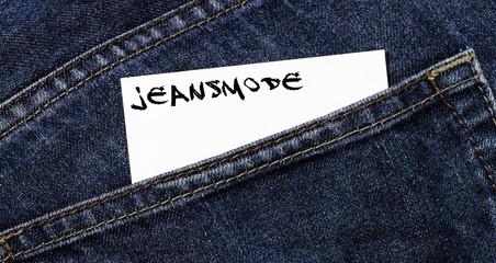 Jeansmode